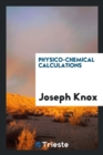 Physico-Chemical Calculations - Book