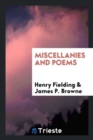 Miscellanies and Poems - Book