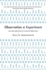 Observation and Experiment : An Introduction to Causal Inference - Book