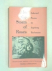 In the Storm of Roses : Selected Poems by Ingeborg Bachmann - Book