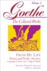 Goethe, Volume 5 : From My Life: Campaign in France 1792-Siege of Mainz - Book