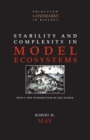 Stability and Complexity in Model Ecosystems - Book