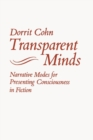 Transparent Minds : Narrative Modes for Presenting Consciousness in Fiction - Book