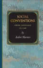 Social Conventions : From Language to Law - Book