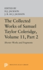 The Collected Works of Samuel Taylor Coleridge, Volume 11 : Shorter Works and Fragments: Volume II - eBook