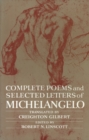 Complete Poems and Selected Letters of Michelangelo - eBook