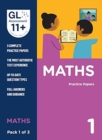 11+ Practice Papers Maths Pack 1 (Multiple Choice) - Book