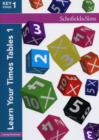 Learn Your Times Tables 1 - Book