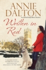 Written in Red : A Spy Thriller Set in Oxford with Echoes of the Cold War - Book