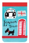London Town Mini Sticky Notes - Book