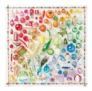 Rainbow Ornaments 500 Piece Puzzle - Book