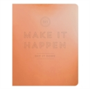 Make It Happen Copper Deluxe Pocket Undated Planner - Book