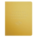 Fortune Favors the Prepared Gold Deluxe Pocket Undated Planner - Book