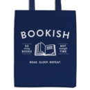 Bookish Canvas Tote Bag - Book