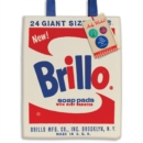 Andy Warhol Brillo Tote Bag - Book