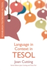 Language in Context in TESOL - Book