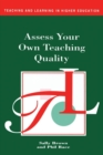 Assess Your Own Teaching Quality - Book