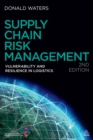 Supply Chain Risk Management : Vulnerability and Resilience in Logistics - eBook