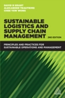 Sustainable Logistics and Supply Chain Management : Principles and Practices for Sustainable Operations and Management - eBook
