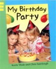 My Birthday Party - Book