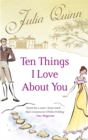 Ten Things I Love About You - Book