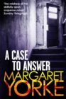 A Case To Answer - Book