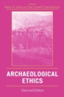 Archaeological Ethics - Book