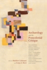 Archaeology and the Postcolonial Critique - Book