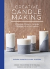 Creative Candle Making : 12 Unique Projects to Make Candles for All Occasions - Includes Materials to Make 4 Candles - Book
