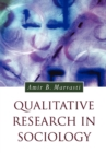 Qualitative Research in Sociology - Book