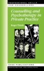 Counselling and Psychotherapy in Private Practice - Book