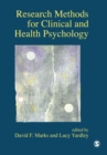Research Methods for Clinical and Health Psychology - Book