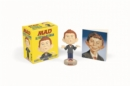Alfred E. Neuman: Mini Bobblehead Kit - Book