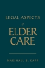 Legal Aspects Of Elder Care - Book