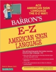 E-Z American Sign Language - Book