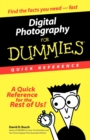 Digital Photography for Dummies Quick Reference - Book