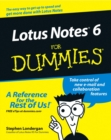 Lotus Notes 6 for Dummies - Book