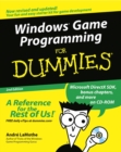 Windows Game Programming for Dummies - Book