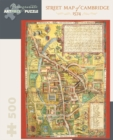 Street Map of Cambridge 500-Piece Jigsaw Puzzle Aa827 - Book