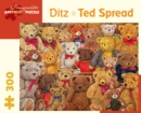 Ditz Ted Spread 300-Piece Jigsaw Puzzle - Book