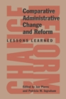 Comparative Administration Change : Lessons Learned - eBook