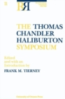 The Thomas Chandler Haliburton Symposium - Book