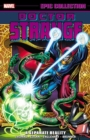 Doctor Strange Epic Collection: A Separate Reality - Book