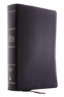 The NKJV, Open Bible, Leathersoft, Black, Thumb Indexed, Red Letter Edition, Comfort Print : Complete Reference System - Book