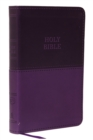 KJV, Value Thinline Bible, Compact, Leathersoft, Purple, Red Letter Edition, Comfort Print : Holy Bible, King James Version - Book