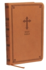 KJV, Value Thinline Bible, Compact, Leathersoft, Brown, Red Letter Edition, Comfort Print : Holy Bible, King James Version - Book