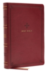 NRSV, Catholic Bible, Thinline Edition, Leathersoft, Red, Comfort Print : Holy Bible - Book