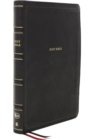 NKJV, Deluxe Reference Bible, Center-Column Giant Print, Leathersoft, Black, Red Letter, Thumb Indexed, Comfort Print : Holy Bible, New King James Version - Book
