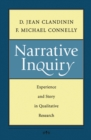 Narrative Inquiry : Experience and Story in Qualitative Research - Book