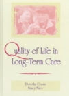 Quality of Life in Long-Term Care - Book